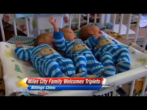 Родиха се еднояйчни тризнаци