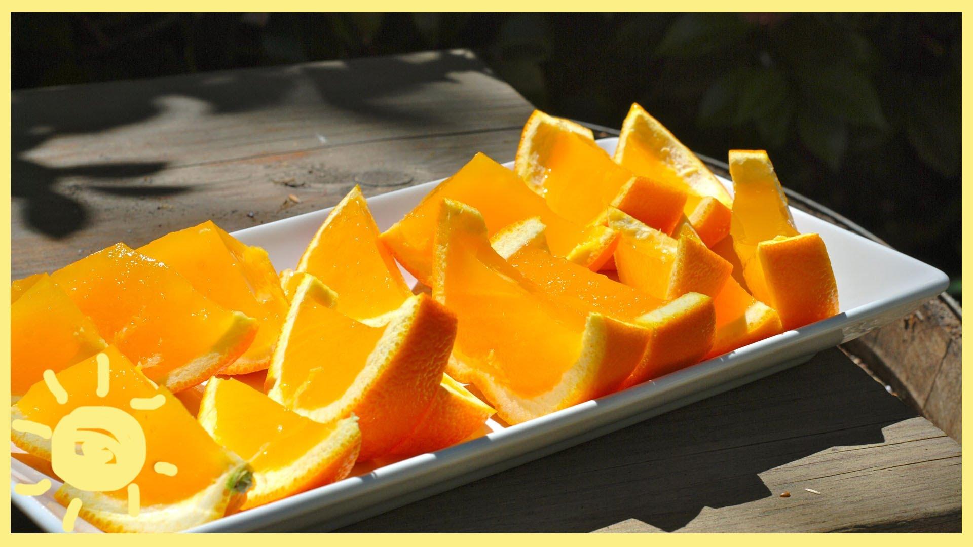 Лесен и бърз десерт от портокали