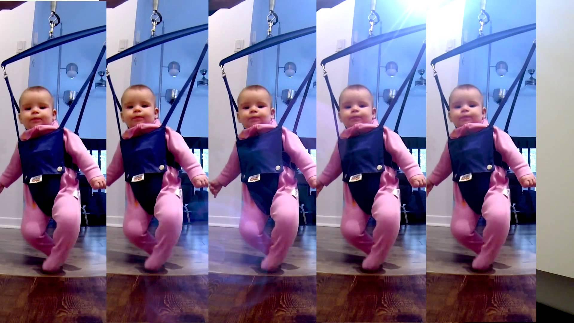Танцът на бебето Кали