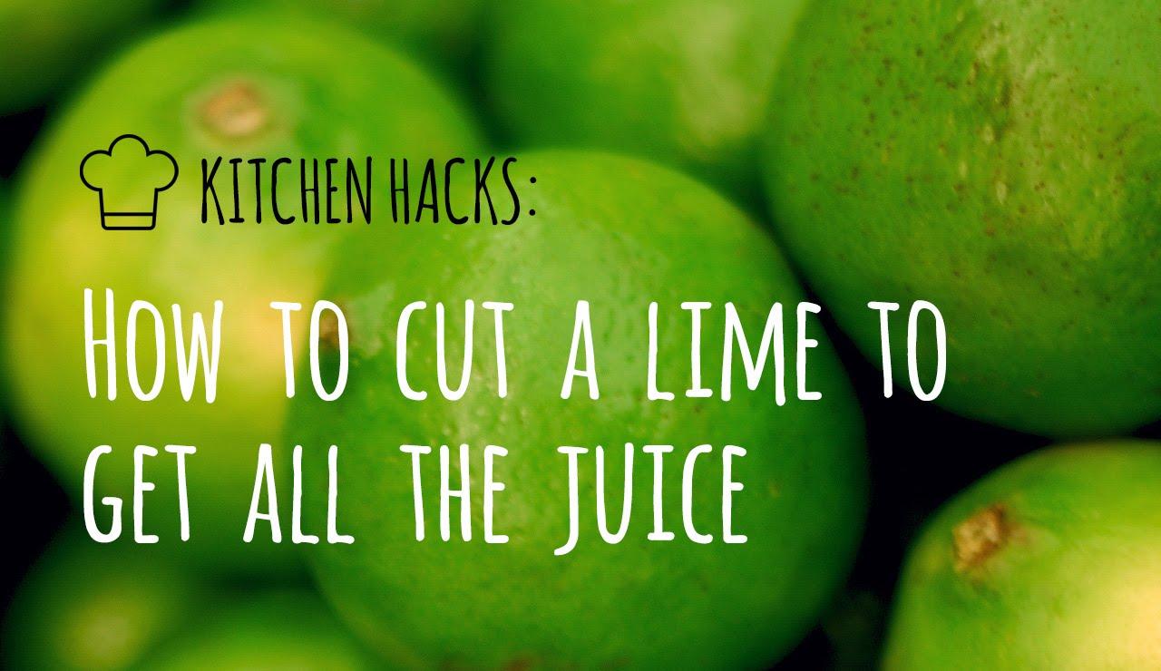 Трик за рязане на лимон