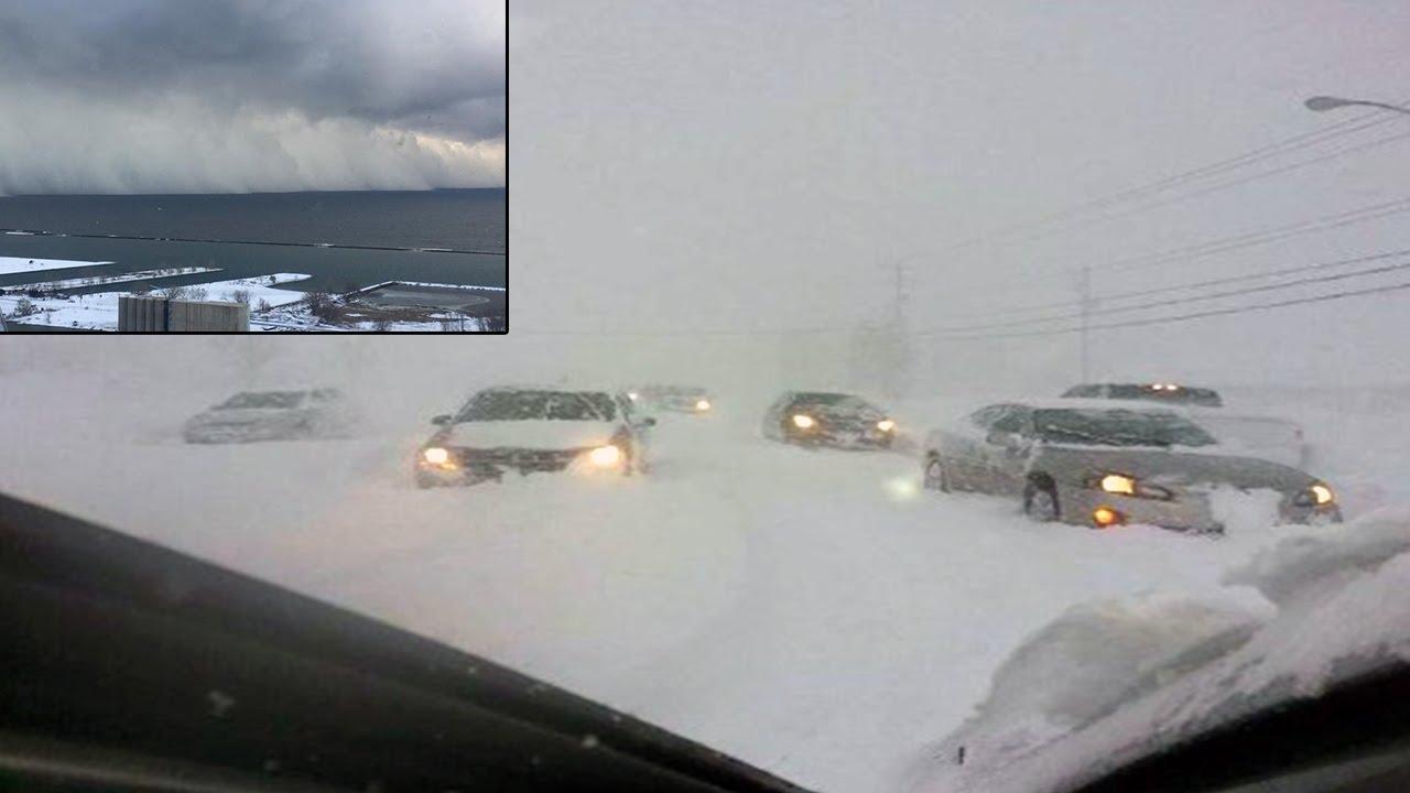 Лошо време, студ и бури в Америка