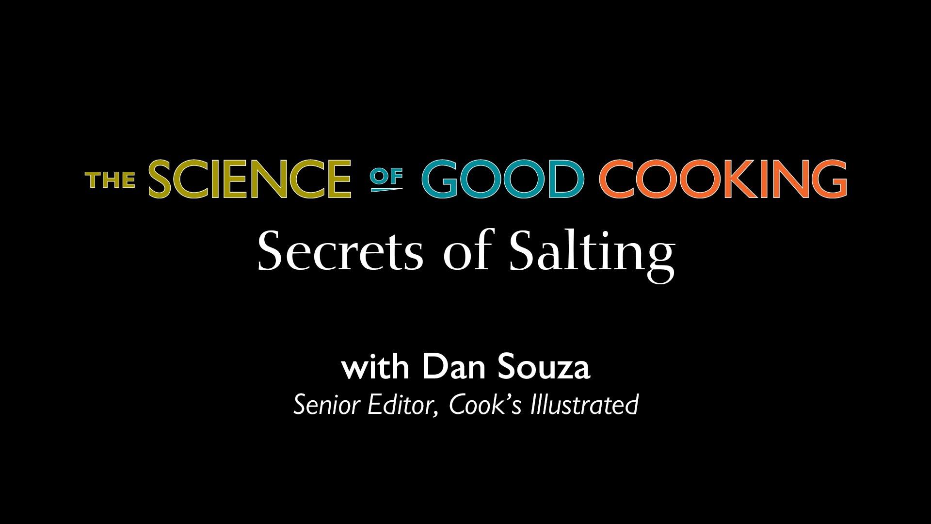Как да солим правилно ястието