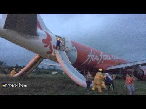 Нов инцидент със самолет на Air Asia!