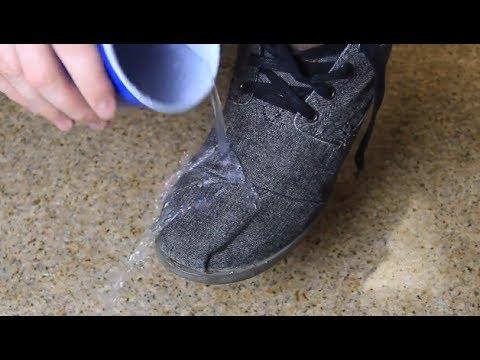 Начин да не пропускат вода обувките