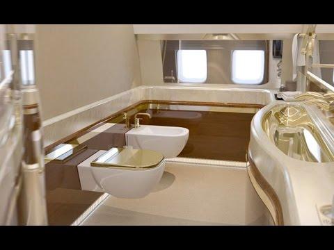 Ексклузивно видео! Самолетът на Путин!