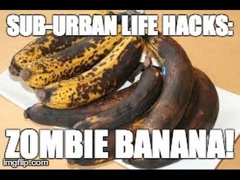 Как да направим от изгнилия банан отново свеж