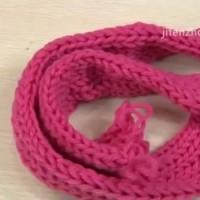 Плетене на шал на кутия