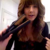 Как да си направим къдрици с преса за коса?