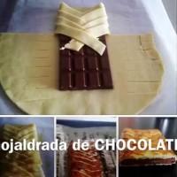 Шоколад в бутер тесто