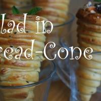 Уникално ястие: Салата в хляб