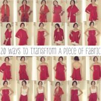 20 начина да използваш парче плат