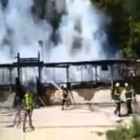 Пожар във Варна заведение изгоря
