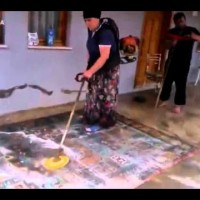 Лесно пране на килими