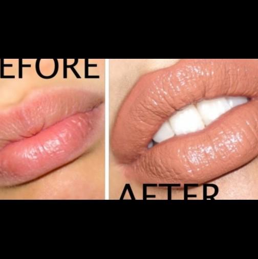 Как да имаме плътни устни