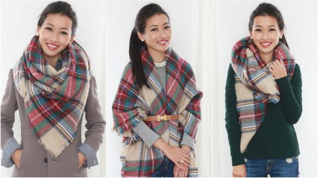 Нови 6 начина за връзване на шала- бъдете стилни, модерни и неутразими