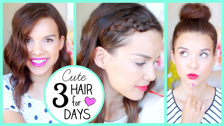 3 готини прически, които ще ви помогнат да не си миете косата 3 дни