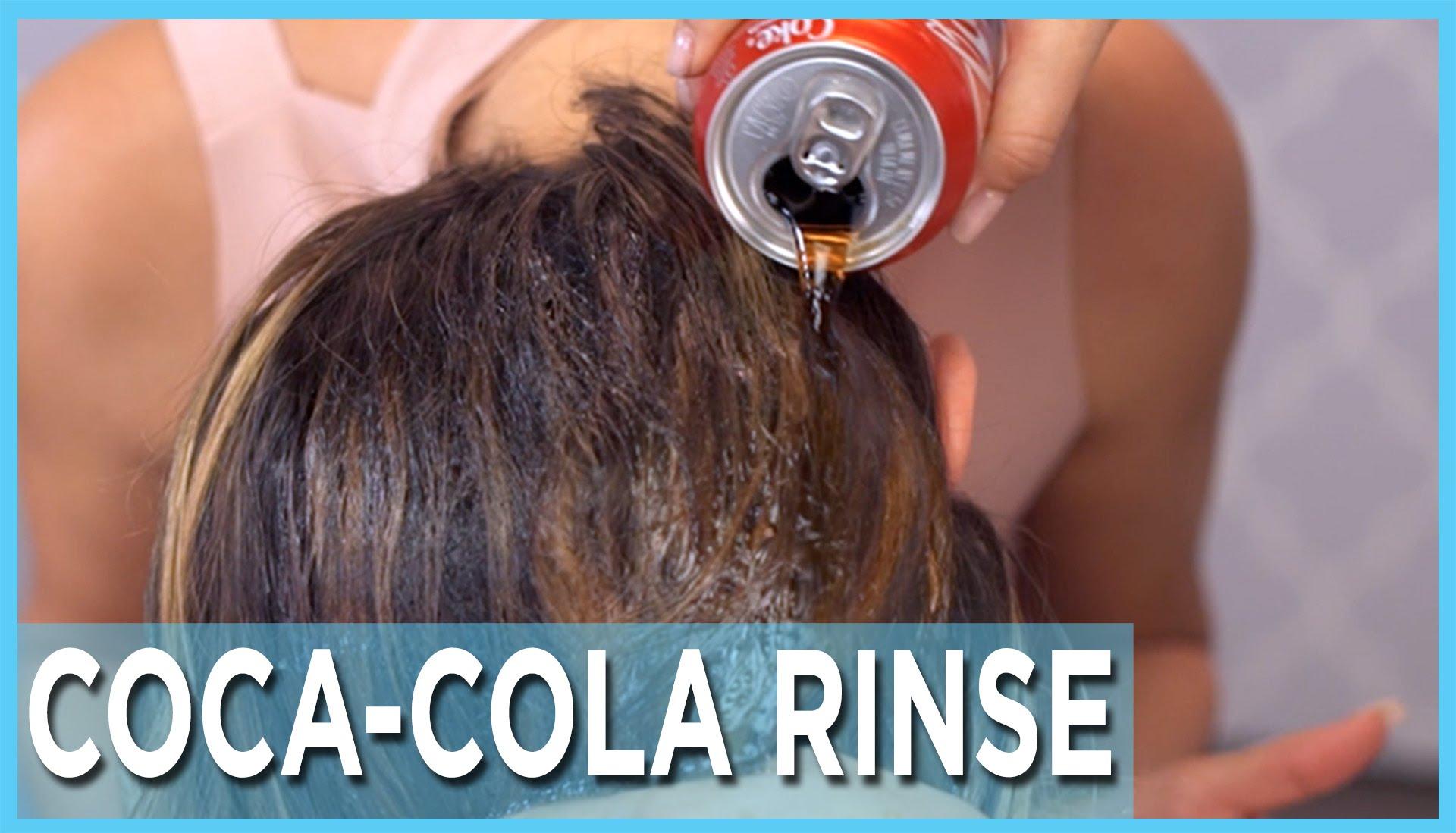Къдрене на косата с Кока Кола