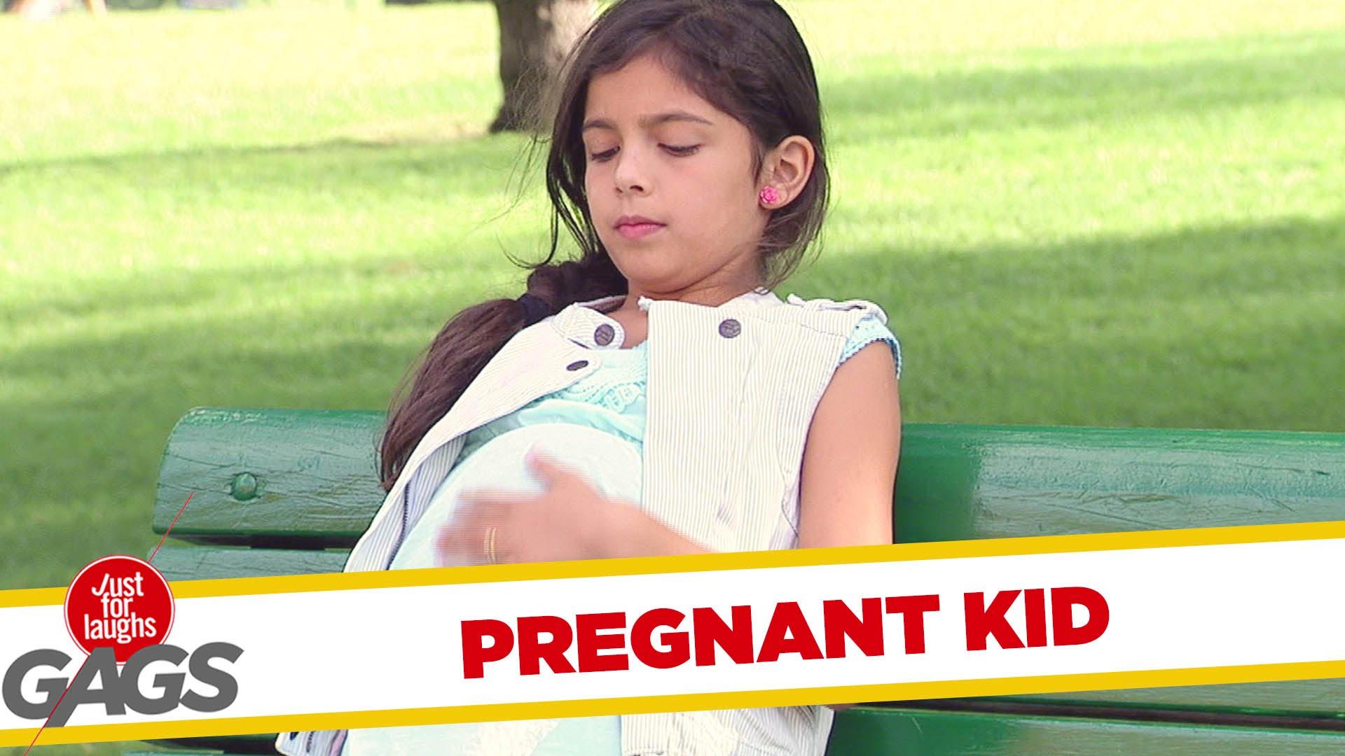 Жена вижда малко бременно момиче
