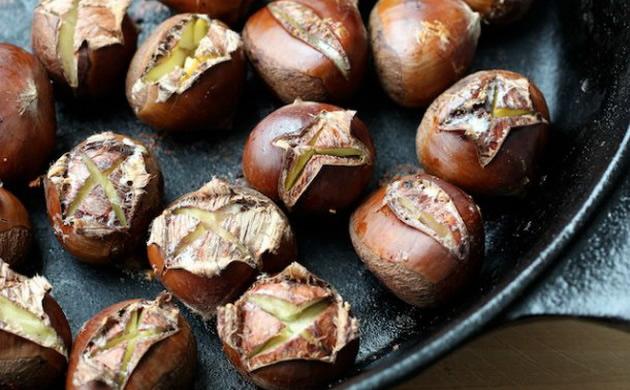 Как се правят печени кестени?