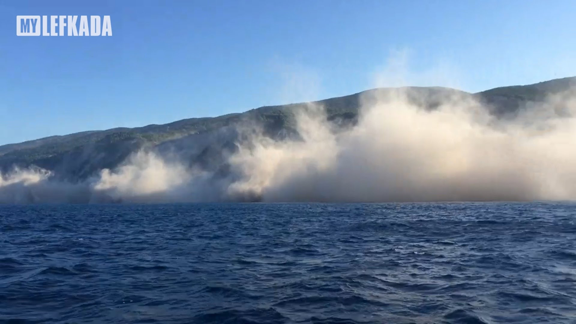 Част от плажовете в Гърция потънаха под вода