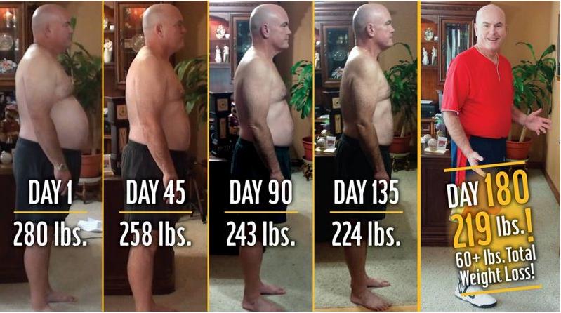 Как този мъж свали 30 кг само с ядене на хамбургери? Изумително, нали? (Видео) - За Жената