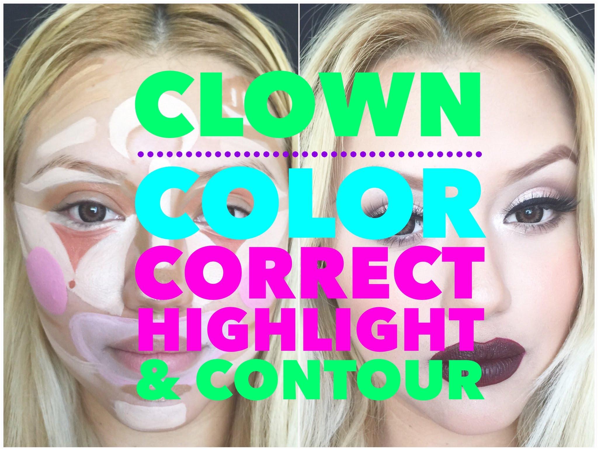 Гримиране Клоун