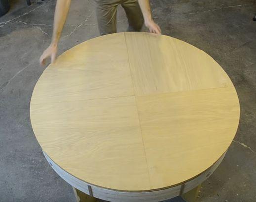 Разгъваема маса