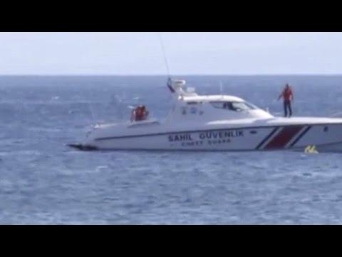 Спасяване на дете, отнесено навътре в морето ...