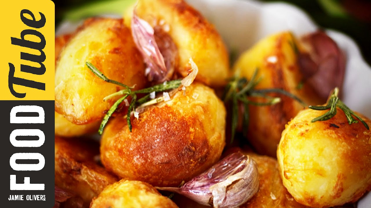 Печени картофи на Джейми Оливър