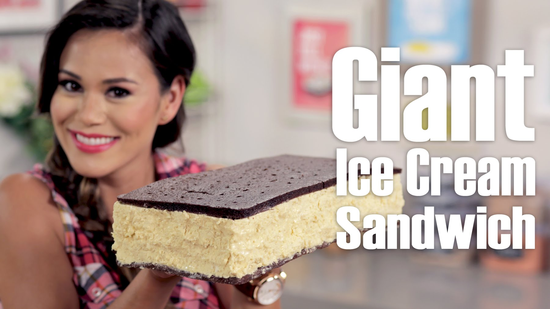 Как да си направите огромна сладоледена торта