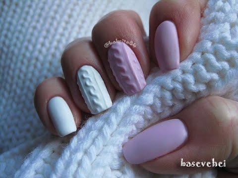 Как да си направите нокти пуловер