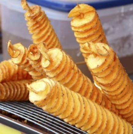 Пържени картофи на спирали