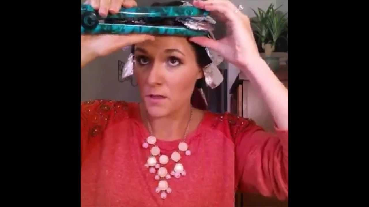 Изсушаване на косата с фолио