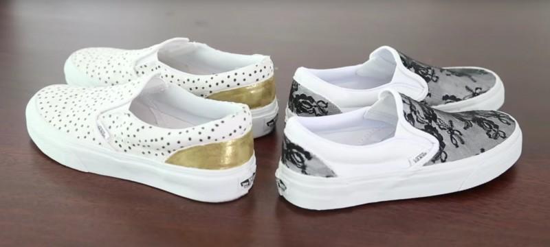 Как да си направите обувките уникални?