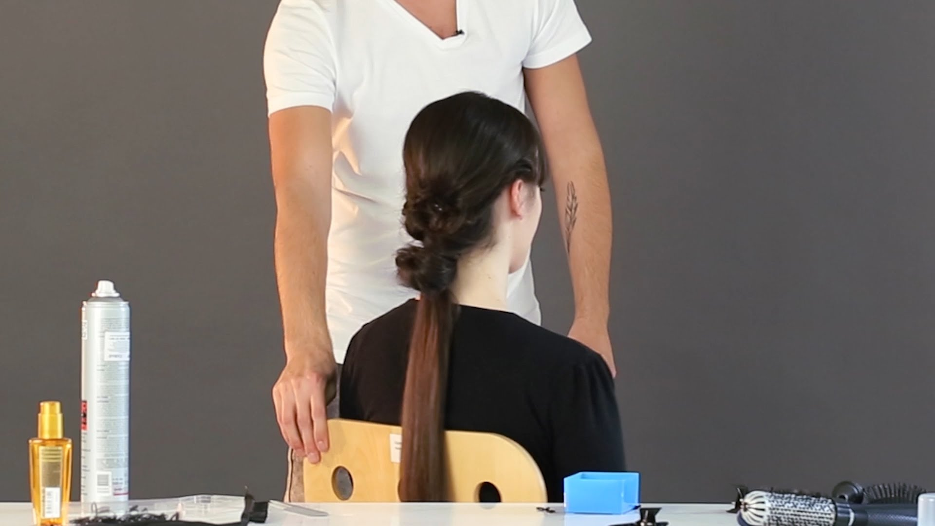 Как да си направите прическа на опашка, лесно и бързо