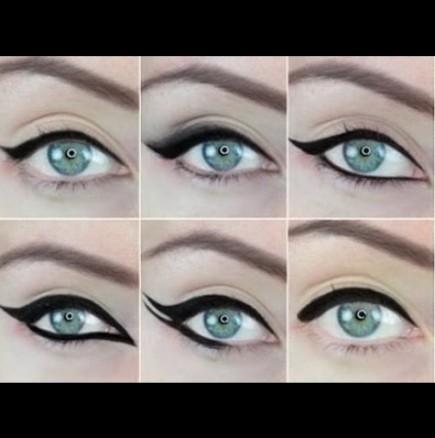 10 нови начина за поставяне на очна линия