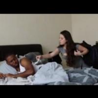 Открила използван презерватив на леглото му