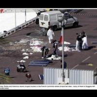 Видео с убийството на терориста в Ница
