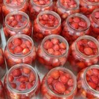 Как се прави компот от ягоди?