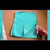 Килимче за баня от хавлиени кърпи - как се прави