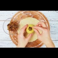 Печени ябълки в тесто