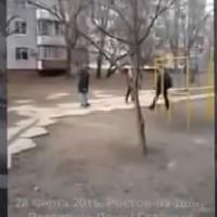 Ученик стреля с пистолет