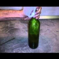 Как се вади тапа от бутилка