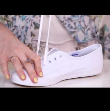 Как да си направя обикновените гуменки в супер модерни и сладки обувки