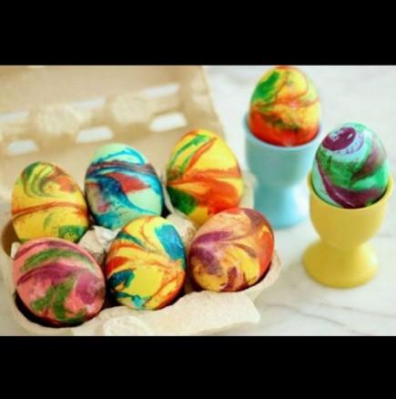 Уникално, красиво и нетрадиционно боядисване на яйца