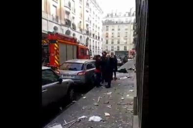 Газова експлозия Париж