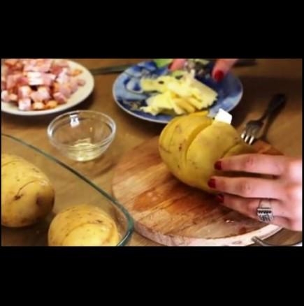 Пълнен картоф
