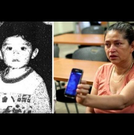 Майка пази само една снимка на телефона си