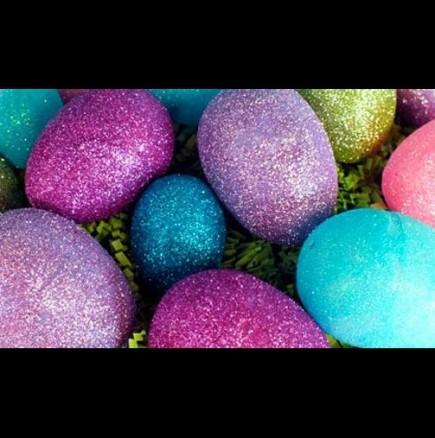 Как да си направим блестящи яйца за Великден