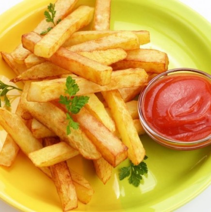 Пържени картофи без мазнина